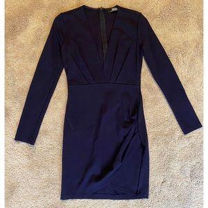 Navy Bodycon Dress - Worn Once!